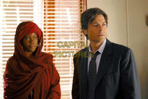 "ROB LOWE & JULANNE CHIDI HILL.in The Lyon's Den.""Pilot"".Filmstill - Editorial Use Only.Ref: FB.www.capitalpictures.com.sales@capitalpictures.com.Supplied by Capital Pictures"