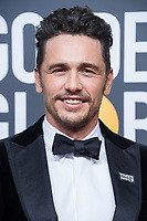 Nominated for BEST PERFORMANCE BY AN ACTOR IN A MOTION PICTURE &ndash; COMEDY OR MUSICAL for his role in &quot;The Disaster Artist,&quot; actor James Franco arrives at the 75th Annual Golden Globe Awards at the Beverly Hilton in Beverly Hills, CA on Sunday, January 7, 2018.<br /> *Editorial Use Only*<br /> CAP/PLF/HFPA<br /> &copy;HFPA/PLF/Capital Pictures