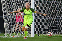 Piscataway, NJ - Saturday August 19, 2017: Jessica Fishlock during a regular season National Women's Soccer League (NWSL) match between Sky Blue FC and the Seattle Reign FC at Yurcak Field.