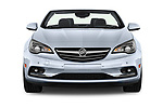 Car photography straight front view of a 2018 Buick Cascada Premium 2 Door Convertible Front View