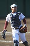 Yasuhito Uchida (Joso Gakuin), <br /> SEPTEMBER 29, 2013 - Baseball : <br /> The 68th National Sports Festival <br /> between Osaka Toin 7-5 Joso Gakuin <br /> at Hachioji Municipal Baseball Stadium, Tokyo, Japan. <br /> (Photo by YUTAKA/AFLO SPORT)