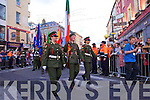at the Rose of Tralee parade on Saturday night.