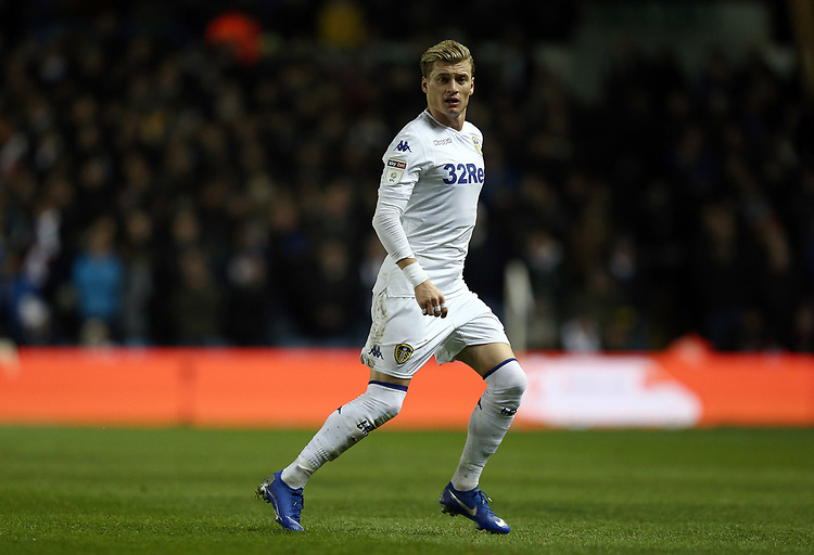 Leeds United's Ezgjan Alioski<br /> <br /> Photographer Rich Linley/CameraSport<br /> <br /> The EFL Sky Bet Championship - Leeds United v Reading - Tuesday 27th November 2018 - Elland Road - Leeds<br /> <br /> World Copyright © 2018 CameraSport. All rights reserved. 43 Linden Ave. Countesthorpe. Leicester. England. LE8 5PG - Tel: +44 (0) 116 277 4147 - admin@camerasport.com - www.camerasport.com