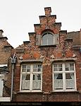 17th century Stepped Gable, Noordzandstraat 71, Bruges, Brugge, Belgium