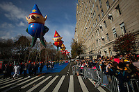 Revellers take part during the 89th Macy's Thanksgiving Annual Day Parade in the Manhattan borough of New York.  11/26/2015. Eduardo MunozAlvarez/VIEWpress