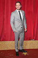 Jamie Lomas<br /> arrives for the British Soap Awards 2016 at Hackney Empire, London.<br /> <br /> <br /> &copy;Ash Knotek  D3124  28/05/2016