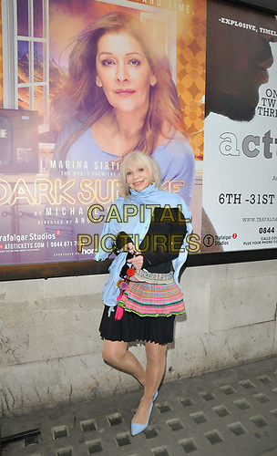 "Katy Manning at the ""Dark Sublime"" gala performance, Trafalgar Studios, Whitehall, London, England, UK, on Monday 01st July 2019.<br /> CAP/CAN<br /> ©CAN/Capital Pictures"