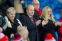 FAW chief executive Jonathan Ford during the International Friendly match between Wales and Panama at the Cardiff City Stadium, Cardiff, Wales on 14 November 2017. Photo by Mark Hawkins.
