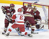 Chris Collins, Joe Pavelski, Mike Brennan, Cory Schneider - The University of Wisconsin Badgers defeated the Boston College Eagles 2-1 on Saturday, April 8, 2006, at the Bradley Center in Milwaukee, Wisconsin in the 2006 Frozen Four Final to take the national Title.