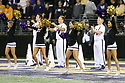 SEATTLE, WA - September 07:  Washington cheer member Alisa Yoshikawa entertained fans during the college football game between the Washington Huskies and the California Bears on September 07, 2019 at Husky Stadium in Seattle, WA. Jesse Beals / www.Olympicphotogroup.com