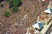 Milhares de Romeiros acompanham a maior prociss&atilde;o religiosa do planeta o C&iacute;rio de Nazar&eacute; em bel&eacute;m Par&aacute; Brasil.<br />08/10/2000<br />Foto Marcos Santos/Interfoto