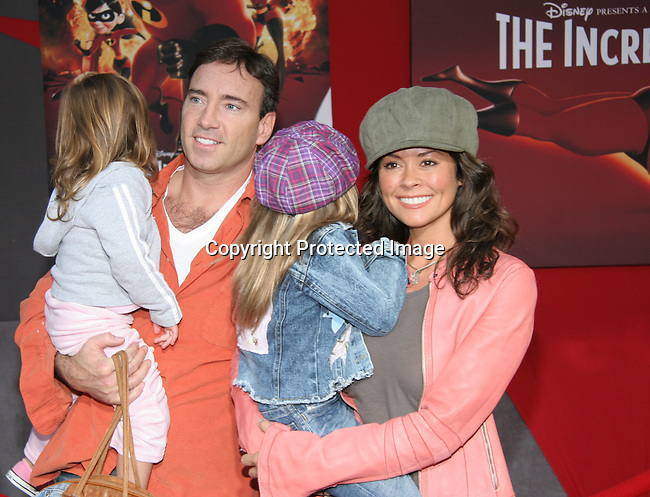 Brooke Burke &amp; family<br />&quot;The Incredibles&quot; Film Premiere - Arrivals<br />El Capitan Theatre<br />Hollywood, CA, USA<br />Sunday, October 24, 2004<br />Photo By Celebrityvibe.com/Photovibe.com, <br />New York, USA, Phone 212 410 5354, <br />email: sales@celebrityvibe.com