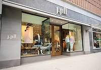 A J. Jill women's apparel store in New York on Monday, April 11, 2016. J. Jill has tapped several banks as underwriters as it plans for a possible initial public offering. J. Jill was purchased by TowerBrook Capital Partners LP last year. The retailer targets women over 45 years old selling via their catalog and through almost 260 stores. (©Richard B. Levine)