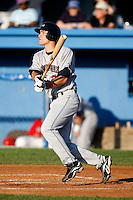 July 27, 2009:  Third Baseman Kyle Bellows of the Mahoning Valley Scrappers during a game at Dwyer Stadium in Batavia, NY.  Mahoning Valley is the NY-Penn League Short-Season Class-A affiliate of the Cleveland Indians.  Photo By Mike Janes/Four Seam Images