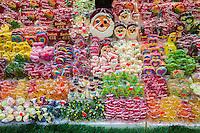 Bancarella dolciumi mercatini di Natale