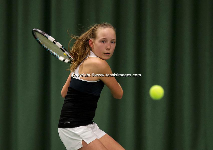 March 7, 2015, Netherlands, Rotterdam, TC Victoria, NOJK, Eloise de Mooij (NED)<br /> Photo: Tennisimages/Henk Koster