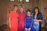 Niamh Murtagh, margaret and Ailish Murtagh with Bishop Smith.Slane Confirmation..Picture: Fran Caffrey / www.newsfile.ie ..