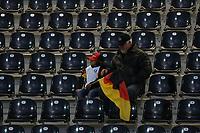 einsame deutsche Fans auf der Tribuene<br /> U21 Deutschland vs. Israel *** Local Caption *** Foto ist honorarpflichtig! zzgl. gesetzl. MwSt. Auf Anfrage in hoeherer Qualitaet/Aufloesung. Belegexemplar an: Marc Schueler, Alte Weinstrasse 1, 61352 Bad Homburg, Tel. +49 (0) 151 11 65 49 88, www.gameday-mediaservices.de. Email: marc.schueler@gameday-mediaservices.de, Bankverbindung: Volksbank Bergstrasse, Kto.: 151297, BLZ: 50960101