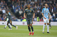 Leicester City's Youri Tielemans <br /> <br /> Photographer Stephen White/CameraSport<br /> <br /> The Premier League - Huddersfield Town v Leicester City - Saturday 6th April 2019 - John Smith's Stadium - Huddersfield<br /> <br /> World Copyright © 2019 CameraSport. All rights reserved. 43 Linden Ave. Countesthorpe. Leicester. England. LE8 5PG - Tel: +44 (0) 116 277 4147 - admin@camerasport.com - www.camerasport.com