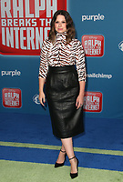 LOS ANGELES CA - NOVEMBER 5: Katie Lowes at the LA Premiere Of Ralph Breaks The Internet in Los Angeles, California on November 5, 2018. <br /> CAP/MPI/FS<br /> &copy;FS/MPI/Capital Pictures