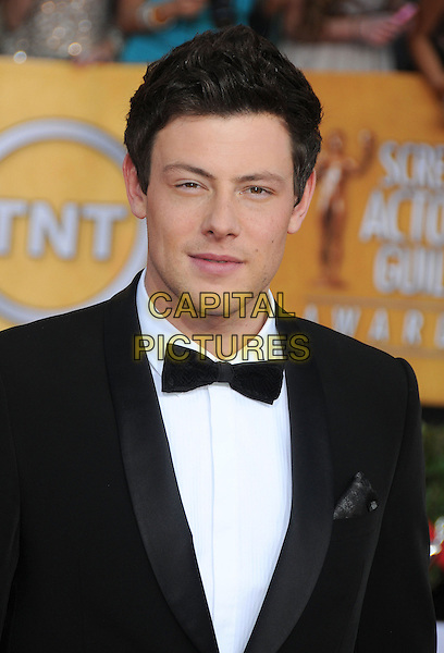 13 July 2013 - Vancouver, British Colombia, Canada - Glee star Cory Monteith was found dead Saturday in his hotel room at the Fairmont Pacific Rim Hotel in Vancouver. He was 31. The cause of death was not immediately apparent. An autopsy was set for Monday. According to police, there were no indications of foul play. They would not discuss what, if anything, was found in room. File Photo: 29 January 2012 - Los Angeles, California - Cory Monteith. 18th Annual Screen Actors Guild Awards held at The Shrine Auditorium. <br /> CAP/ADM/BP<br /> &copy;Byron Purvis/AdMedia/Capital Pictures
