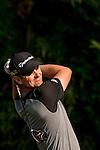 Justin Rose of England tees off during the 58th UBS Hong Kong Golf Open as part of the European Tour on 09 December 2016, at the Hong Kong Golf Club, Fanling, Hong Kong, China. Photo by Marcio Rodrigo Machado / Power Sport Images