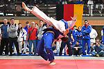 Peer Römbeck (weiss) Hamburg - Alexander Neihs (blau) NRW beim Judo im Wolfgang-Welz-Turnier in der Lilli-Gräber-Halle, Friedrchsfeld Mannheim.<br /> <br /> Foto © PIX-Sportfotos *** Foto ist honorarpflichtig! *** Auf Anfrage in hoeherer Qualitaet/Aufloesung. Belegexemplar erbeten. Veroeffentlichung ausschliesslich fuer journalistisch-publizistische Zwecke. For editorial use only.