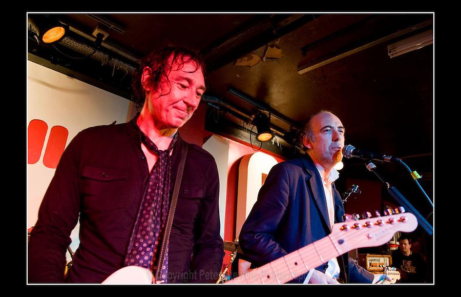 Steve Diggle & Mick Jones - Making the Modern Scene 2 - Terry Rawlings Benefit - 100 Club - 27-07-2009