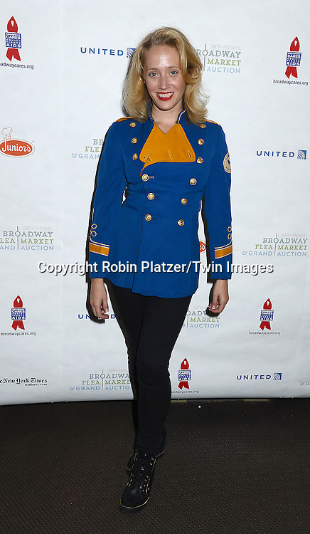 Haven Burton attends the 29th Annual Broadway Flea Market &amp; Grand Auction benefitting Broadway Cares/ Equity Fights Aids  at Shubert Alley on September 27, 2015 in New York, New York, USA.<br /> <br /> photo by Robin Platzer/Twin Images<br />  <br /> phone number 212-935-0770