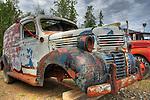 Vintage Dodge van