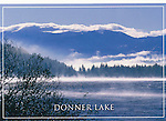 Truckee & Donner area, CA.  4x6 postcards by Frank Balthis