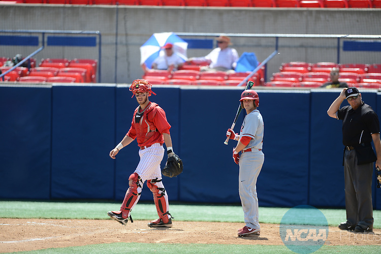 26 May 2013:  SDSU defeats New Mexico during the Mountain West Conference Baseball Tournament at Pete Beiden Field in Fresno, CA. Peter Lockley/NCAA Photos