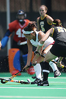 STANFORD, CA - SEPTEMBER 13:  Nora Soza of the Stanford Cardinal during Stanford's 3-2 loss against the Iowa Hawkeyes on September 13, 2008 at the Varsity Field Hockey Turf in Stanford, California.