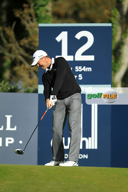 Mark Brown (NZL) during Round 1of the Alfred Dunhill Links Championship at Kingsbarns Golf Club on Thursday 26th September 2013.<br /> Picture:  Thos Caffrey / www.golffile.ie