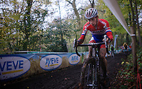 Dutch Champion Lars Van der Haar (NLD/Giant-Shimano)<br /> <br /> Superprestige Gavere 2014