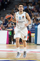 Real Madrid Facundo Campazzo during Turkish Airlines Euroleague match between Real Madrid and Khimki Moscow at Wizink Center in Madrid, Spain. November 02, 2017. (ALTERPHOTOS/Borja B.Hojas) /NortePhoto.com