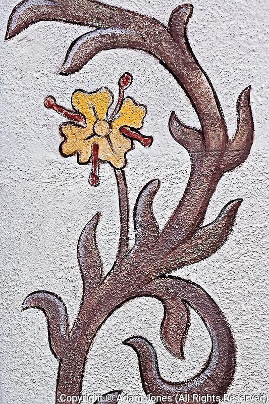 Artwork details on building, Appenzeller, Switzerland