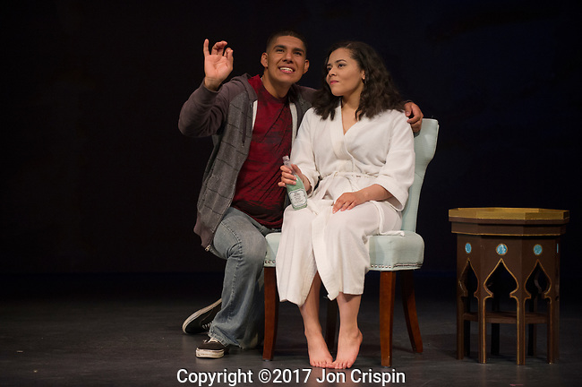 """UMASS Theatre production of """"Happiest Song"""""""