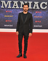 Justin Theroux at the &quot;Maniac&quot; UK TV premiere, BFI Southbank, Belvedere Road, London, England, UK, on Thursday 13 September 2018.<br /> CAP/CAN<br /> &copy;CAN/Capital Pictures