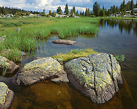 Long Lake in the Beartooth Mountains; Shoshone National Forest, MT