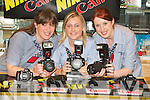 PICTURE PERFECT: At the launch of the Canon Nikon Seminar in Harvey Normans, Manor West Retail Park, Tralee, on Thursday night were, from left, Leanne Roberts, Elaine Blacklaw and Fiona Hartnett..
