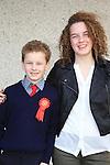 Aaron Lynch and Emma Lynch.Donacarney Confirmation 2013.Picture: Fran Caffrey www.newsfile.ie.