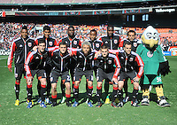 D.C. United Starting Eleven. The Columbus Crew defeated D.C. United  2-1, at RFK Stadium, Saturday March 23, 2013.