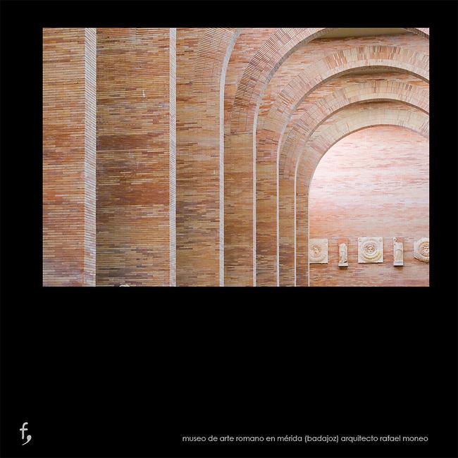 Museo Nacional de Arte Romano en M&eacute;rida (Badajoz).<br /> Arquitecto Rafael Moneo.