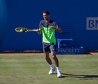 JAMES WARD (GBR)<br /> <br /> Aegon Championships 2014 - Queens Club -  London - UK -  ATP - ITF - 2014  - Great Britain -  10th June 2014. <br /> <br /> &copy; AMN IMAGES
