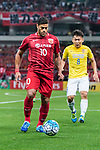 Shanghai FC Forward Givanildo Vieira De Sousa (Hulk) in action during the AFC Champions League 2017 Round of 16 match between Shanghai SIPG FC (CHN) vs Jiangsu FC (CHN) at the Shanghai Stadium on 24 May 2017 in Shanghai, China. Photo by Marcio Rodrigo Machado / Power Sport Images