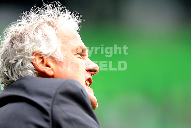 GRONINGEN - voetbal , FC Groningen - PSV ,  Eredivisie , stadion Euroborg , seizoen 2010-2011 , 15-05-2011 , PSV trainer Fred Rutten.