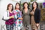 Pictured at the Rose of Tralee Fashion Show on Sunday night last held in the Dome, Tralee, were l-r: Sandra Hickey (The Spa), Margaret Hanafin (The Spa), Mary Murphy (Fenit)  and Angela Clifford (Hertfordshire, originally from Kilmoyley).