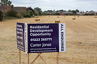 Residential development opportunity on farmland<br /> &copy;Tim Scrivener Photographer 07850 303986<br />      ....Covering Agriculture In The UK....