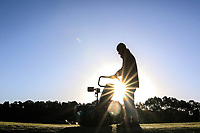 Early course maintenance during the previews ahead of the Rocco Forte Sicilian Open played at Verdura Resort, Agrigento, Sicily, Italy 08/05/2018.<br /> Picture: Golffile | Phil Inglis<br /> <br /> <br /> All photo usage must carry mandatory copyright credit (&copy; Golffile | Phil Inglis)